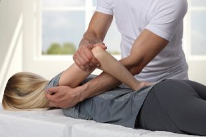 woman discover chiropractic benefits through massage