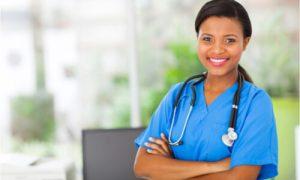 nurse practitioner smiling beautifully